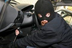 抢劫汽车 免版税图库摄影