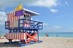 抢救塔,迈阿密海滩 免版税图库摄影