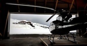 抢救直升机 库存照片