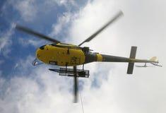 抢救直升机 图库摄影