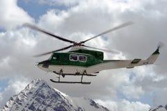 抢救直升机 免版税库存图片