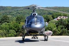 抢救直升机 免版税库存照片