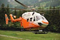 抢救直升机 库存图片