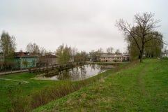 护城河在Galich市 库存图片