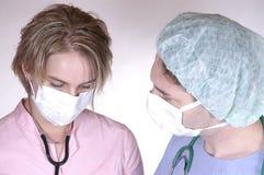护士外科医生 库存照片