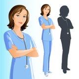 护士妇女 库存照片
