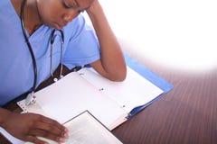 护士学员 库存图片