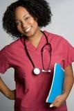护士微笑 库存照片
