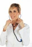 护士微笑 免版税图库摄影
