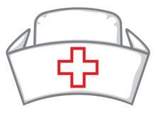 护士盖帽 向量例证