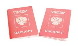 护照俄语 免版税库存图片
