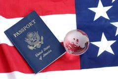 护照我们 库存图片