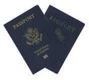 护照替换 免版税库存图片
