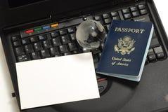护照美国 库存图片
