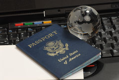 护照美国 免版税图库摄影