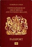 护照英国 皇族释放例证