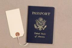 护照销售额 库存图片
