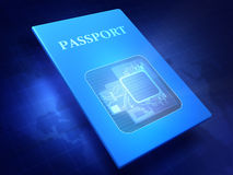 护照 皇族释放例证