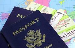 护照 库存图片