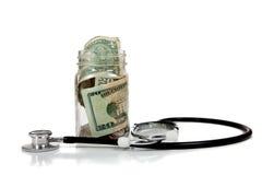 护理费用健康 库存照片