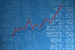 报价股票 库存例证