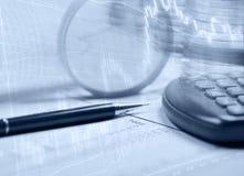 报告储蓄表现 免版税图库摄影