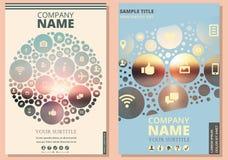 报告或报告的盖子 背景公司火名字白色 对服务 库存照片