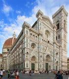 报告文学:旅游业在佛罗伦萨 库存照片
