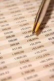 报告股票 免版税库存图片