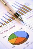 报告附注 免版税库存图片