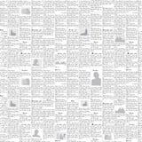 报纸向量背景 免版税图库摄影