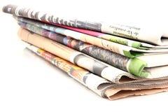 报纸系列 库存图片