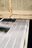 报纸胶印 免版税图库摄影