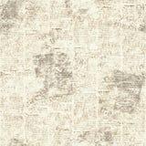 报纸葡萄酒难看的东西拼贴画无缝的纹理 库存照片