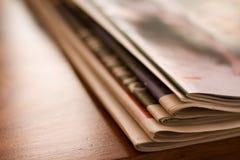 报纸补充条款 库存图片