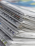 报纸 免版税库存图片