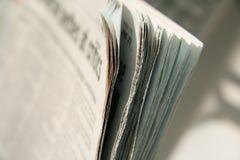 报纸 免版税图库摄影
