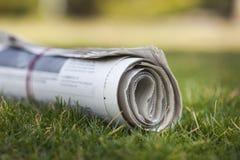 报纸 图库摄影