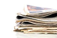 报纸 库存照片