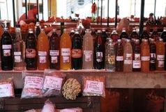 报道的市场在莫斯塔尔 库存图片