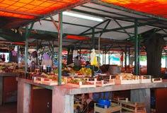 报道的市场在莫斯塔尔 图库摄影