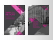 报道设计annnual报告,飞行物,介绍,小册子 库存例证