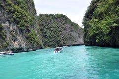 披披岛Krabi 免版税库存照片