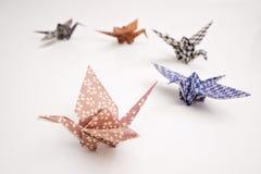 抬头origami 免版税库存图片