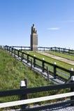 抵抗纪念Dokkumer Nieuwe Zijlen,荷兰 库存图片