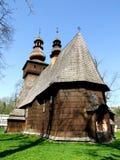 抹大拉的马利亚前木教会在拉布卡Zdrà ³ j在波兰 免版税库存照片