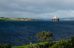 抽油装置在苏格兰 库存图片