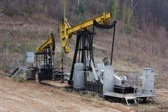 抽油装置 免版税库存照片