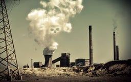 抽烟带来死亡 免版税图库摄影