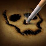 抽烟的危险 向量例证